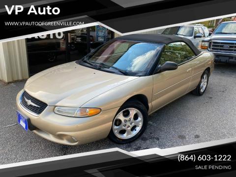 2000 Chrysler Sebring for sale at VP Auto in Greenville SC