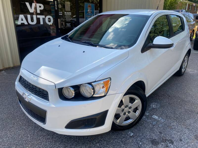 2013 Chevrolet Sonic for sale at VP Auto in Greenville SC