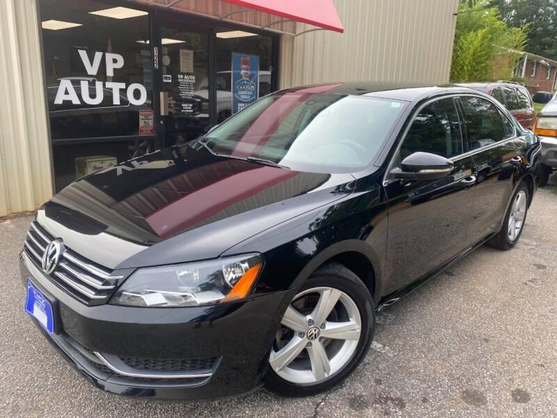 2012 Volkswagen Passat for sale at VP Auto in Greenville SC