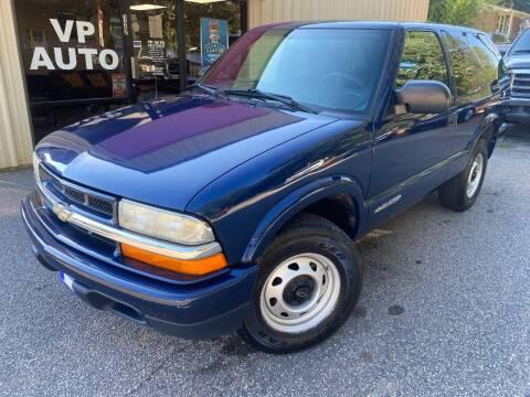 2004 Chevrolet Blazer for sale at VP Auto in Greenville SC
