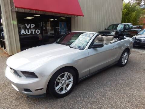 2010 Ford Mustang for sale at VP Auto in Greenville SC