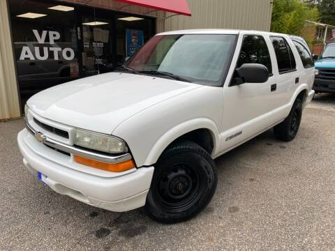 2004 Chevrolet Blazer for sale at VP Auto in Greenville SC