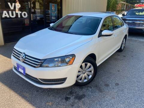 2012 Volkswagen Passat for sale at VP Auto in Greenville SC