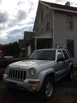 2002 Jeep Liberty for sale at Village Auto Center INC in Harrisonburg VA