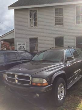 2002 Dodge Durango for sale at Village Auto Center INC in Harrisonburg VA