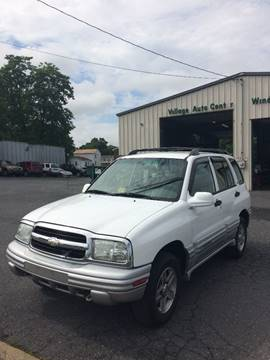 2002 Chevrolet Tracker for sale at Village Auto Center INC in Harrisonburg VA
