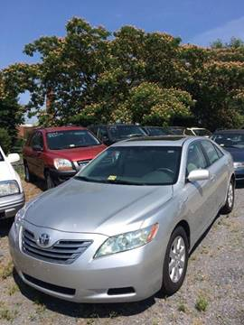 2008 Toyota Camry Hybrid for sale at Village Auto Center INC in Harrisonburg VA