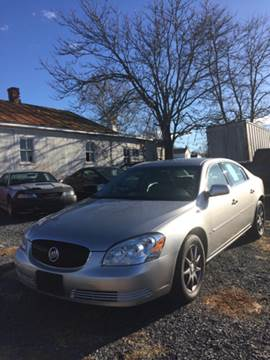 2007 Buick Lucerne for sale at Village Auto Center INC in Harrisonburg VA