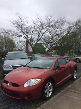 2008 Mitsubishi Eclipse for sale at Village Auto Center INC in Harrisonburg VA