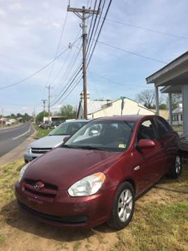 2007 Hyundai Accent for sale at Village Auto Center INC in Harrisonburg VA