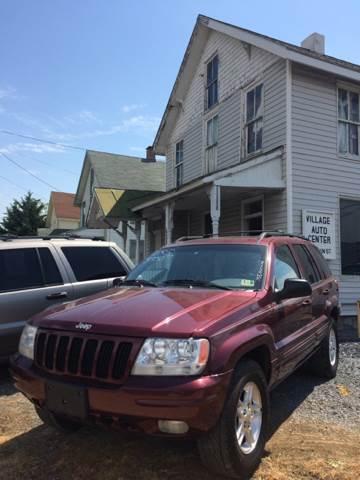 2000 Jeep Grand Cherokee for sale at Village Auto Center INC in Harrisonburg VA