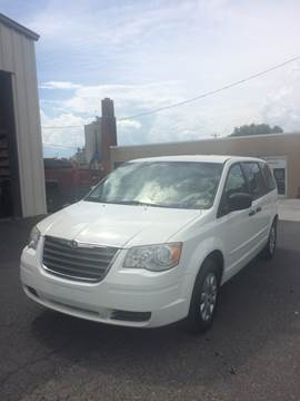 2008 Chrysler Town and Country for sale at Village Auto Center INC in Harrisonburg VA