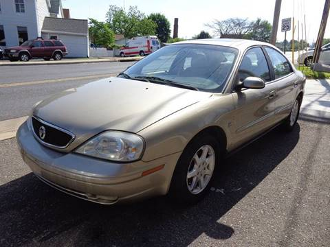 2000 Mercury Sable for sale at Village Auto Center INC in Harrisonburg VA