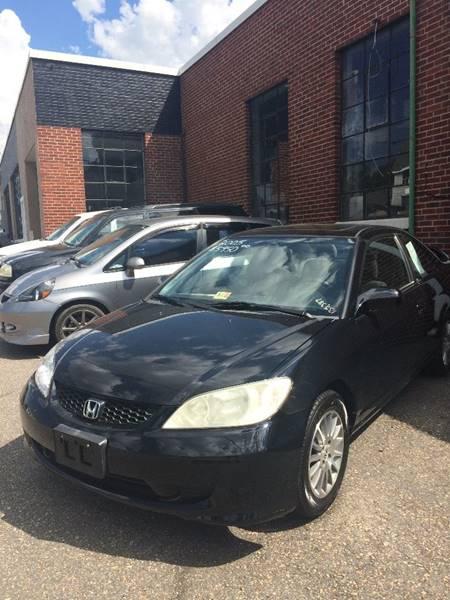 2005 Honda Civic for sale at Village Auto Center INC in Harrisonburg VA