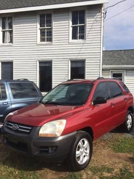 2006 Kia Sportage for sale at Village Auto Center INC in Harrisonburg VA