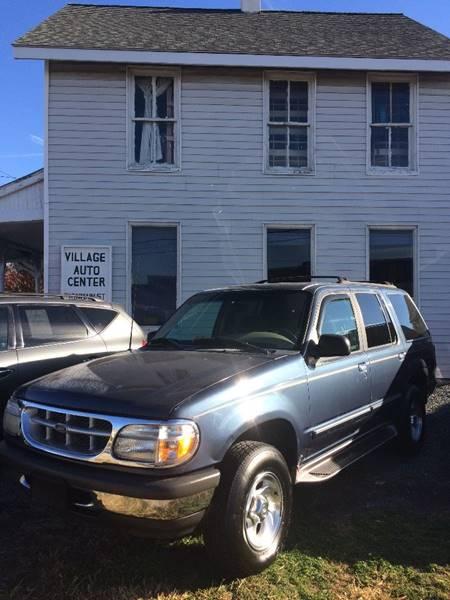 1998 Ford Explorer for sale at Village Auto Center INC in Harrisonburg VA