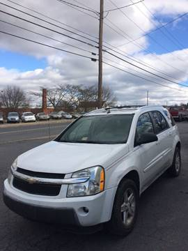 2005 Chevrolet Equinox for sale at Village Auto Center INC in Harrisonburg VA