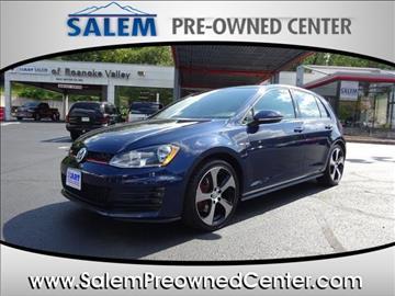 2016 Volkswagen Golf GTI for sale in Salem, VA