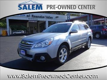 2013 Subaru Outback for sale in Salem, VA