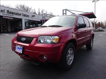 2005 Ford Escape for sale in Salem, VA