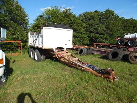 1995 Pup Dump Trailer 12 ft bed for sale in Lone Grove, OK