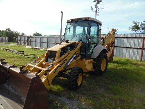 1998 New Holland 555E Extend-a-hoe for sale in Lone Grove, OK