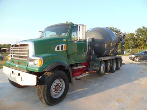 2009 Sterling Cement Mixer Truck
