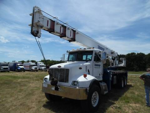 2002 Manitowoc 2892 Peterbilt for sale in Lone Grove, OK