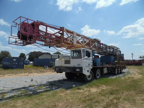 2007 Moor Work Over Rig for sale in Lone Grove, OK