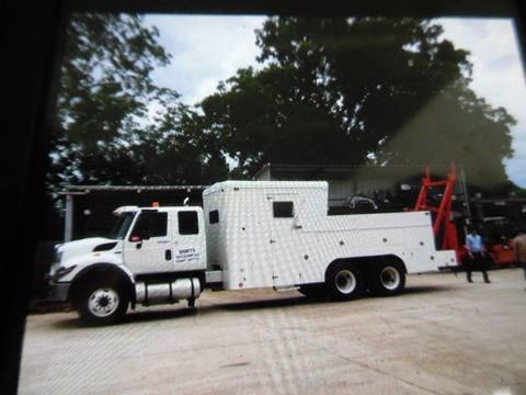 2013 Gulfcoast Quick Rig International  chassis for sale in Lone Grove, OK
