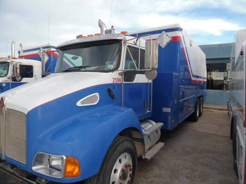 2008 Kenworth Wire Line Truck for sale in Lone Grove, OK