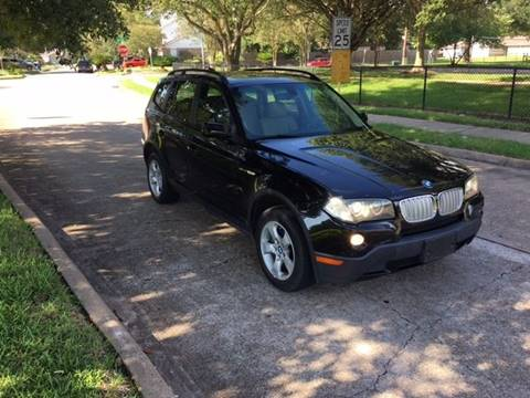 2007 BMW X3 for sale in Houston, TX