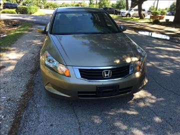 2008 Honda Accord for sale at Demetry Automotive in Houston TX