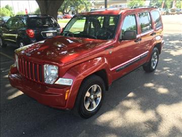 2008 Jeep Liberty for sale at Demetry Automotive in Houston TX
