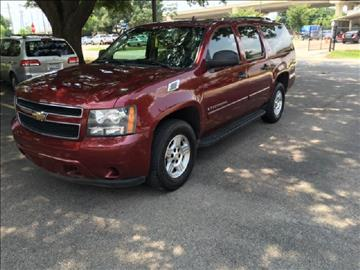 2008 Chevrolet Suburban for sale at Demetry Automotive in Houston TX