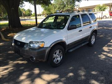 2006 Ford Escape for sale at Demetry Automotive in Houston TX