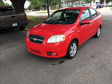 2008 Chevrolet Aveo for sale at Demetry Automotive in Houston TX