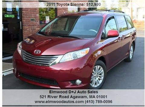 2011 Toyota Sienna for sale in Agawam, MA