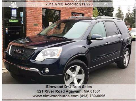 2011 GMC Acadia for sale in Agawam, MA