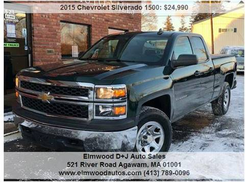 2015 Chevrolet Silverado 1500 for sale at Elmwood D+J Auto Sales in Agawam MA