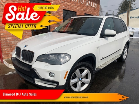 2010 BMW X5 for sale at Elmwood D+J Auto Sales in Agawam MA
