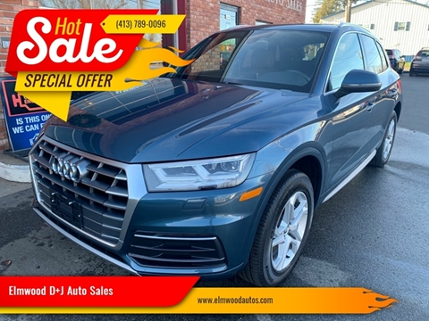 2018 Audi Q5 for sale at Elmwood D+J Auto Sales in Agawam MA