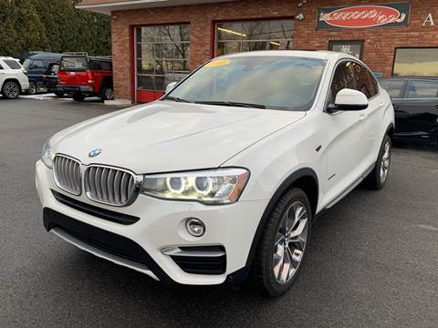 2015 BMW X4 for sale at Elmwood D+J Auto Sales in Agawam MA