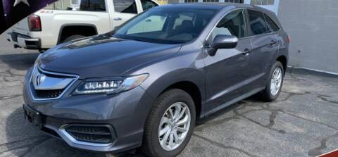 2017 Acura RDX for sale at Elmwood D+J Auto Sales in Agawam MA