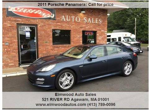 2011 Porsche Panamera for sale at Elmwood D+J Auto Sales in Agawam MA