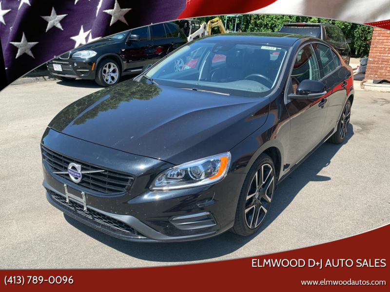 2018 Volvo S60 for sale at Elmwood D+J Auto Sales in Agawam MA