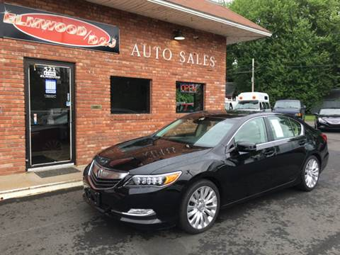 2014 Acura RLX for sale at Elmwood D+J Auto Sales in Agawam MA