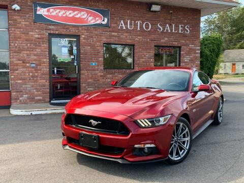 2015 Ford Mustang for sale at Elmwood D+J Auto Sales in Agawam MA