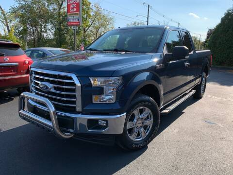 2017 Ford F-150 for sale at Elmwood D+J Auto Sales in Agawam MA