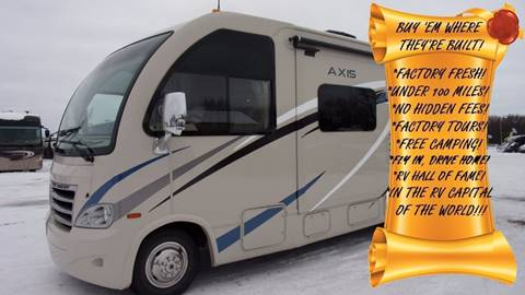 2017 Thor Motor Coach Axis 25.5 for sale in Elkhart, IN